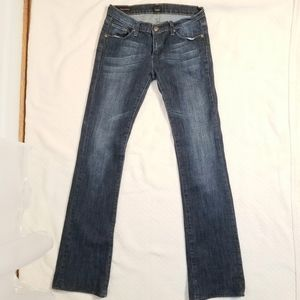 COH Kelly Stretch Low Waist Bootcut Blue Jeans 26